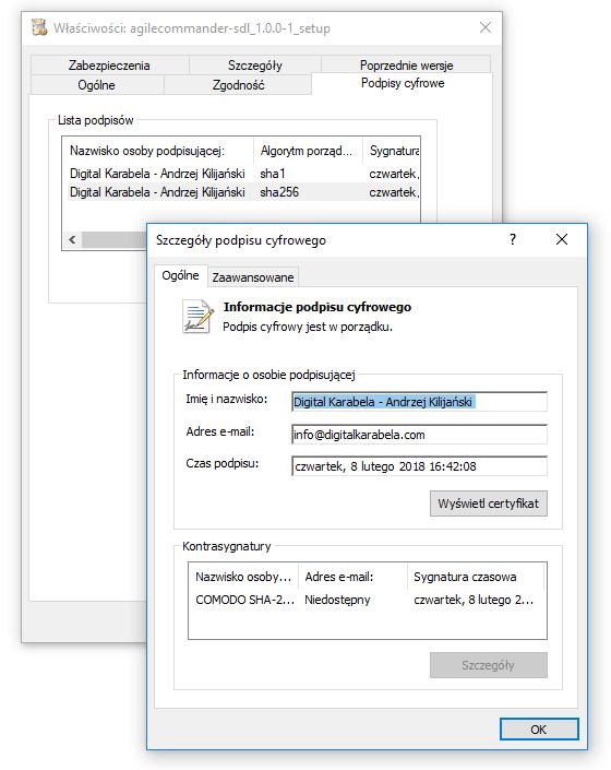 Certyfikat Agile Commander